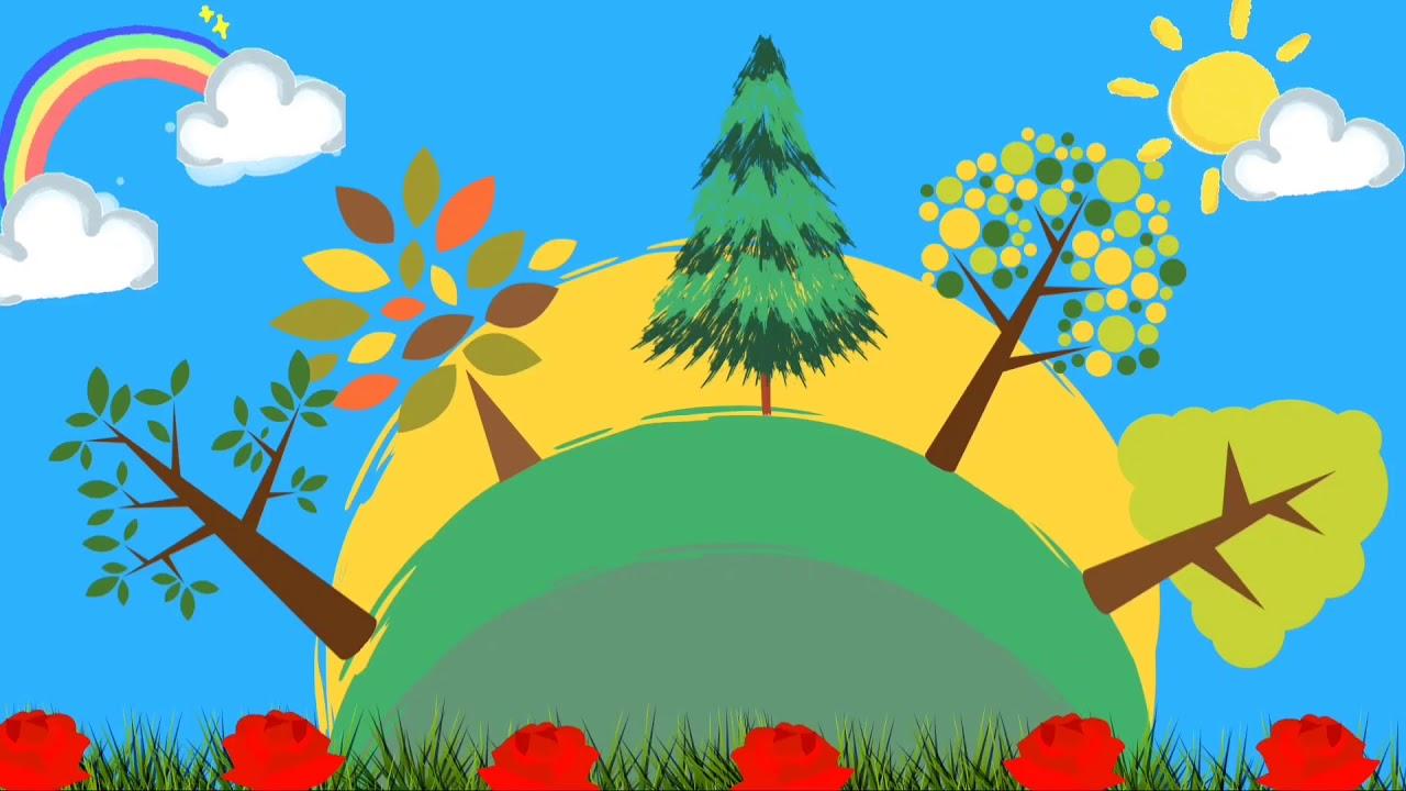 Background Animasi Bergerak Nocopyright Pemandangan Alam - YouTube