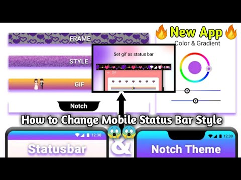 how-to-change-mobile-status-bar-||-status-bar-kirak-app-|-crazy-app-#2020-|change-screen-status-bar