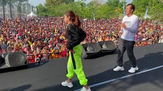 Download lagu PERDANA!!! RARA MEMBAWAKAN LAGU DITIKAM ASMARA SAAT OFF AIR DI PRABUMULIH