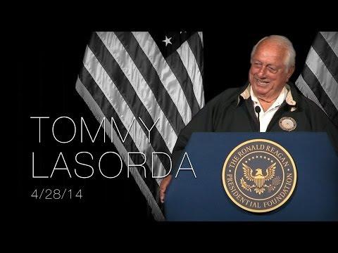 A Reagan Forum with Tommy Lasorda —4/28/14