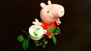 Свинка Пеппа ложится спать. Мятный чай – рецепт от Пеппы. Готовим вместе с Пеппой.(, 2015-10-29T15:10:22.000Z)
