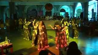 Rajasthani Folk Dance (Kalbeliya) at Malhar 2014