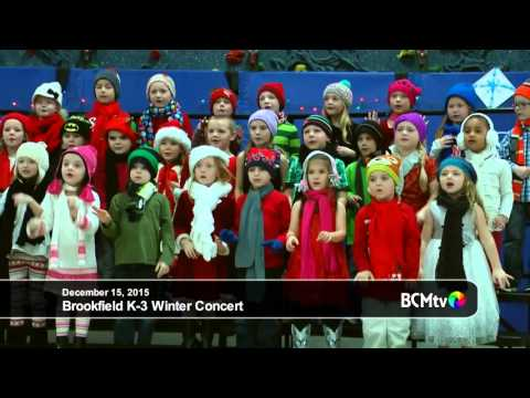 Brookfield Elementary School K-3 Winter Concert