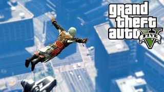 GTA 5 - Parkour Fails - Assassin's Creed Edition # 14 (Parkour Wins, Jumps, Assassin's Creed Fails)