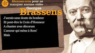 Georges Brassens - Le pornographe - Paroles ( karaoké )