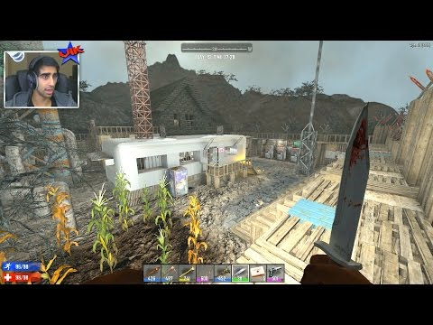 VISITING A SETTLEMENT! - 7 DAYS TO DIE #14 - (Season 3)