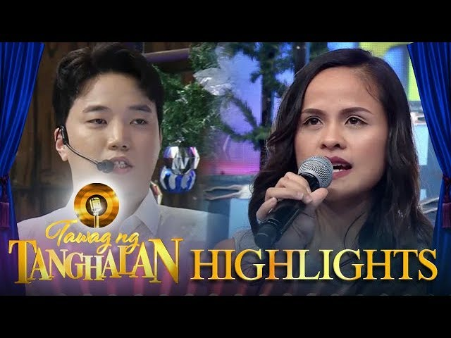 Tawag ng Tanghalan: Ryan gives daily contender Zena gifts for her family