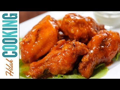 How To Make Buffalo Wings - Extra Hot Wings Recipe  Hilah Cooking