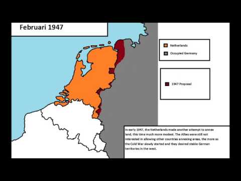Dutch annexation plans after WWII