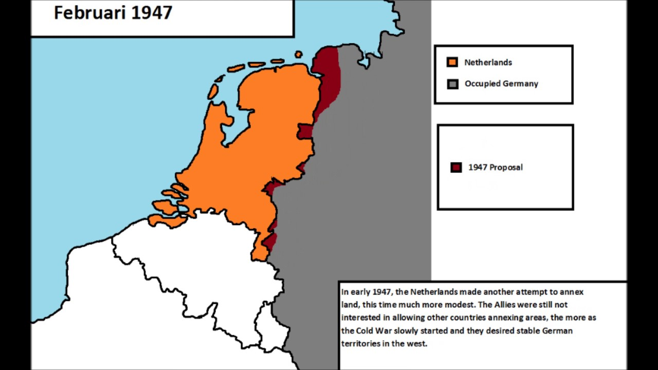 Dutch annexation plans after WWII YouTube