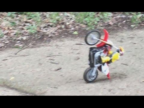 TAIYO 1/8 Motocross RC motorcycle w/ Futaba radio