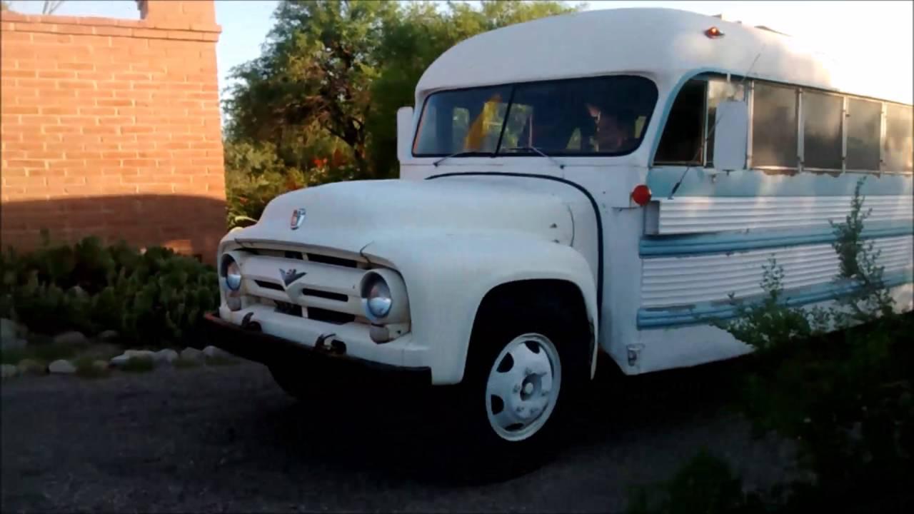 SOLD Vintage School Bus RV