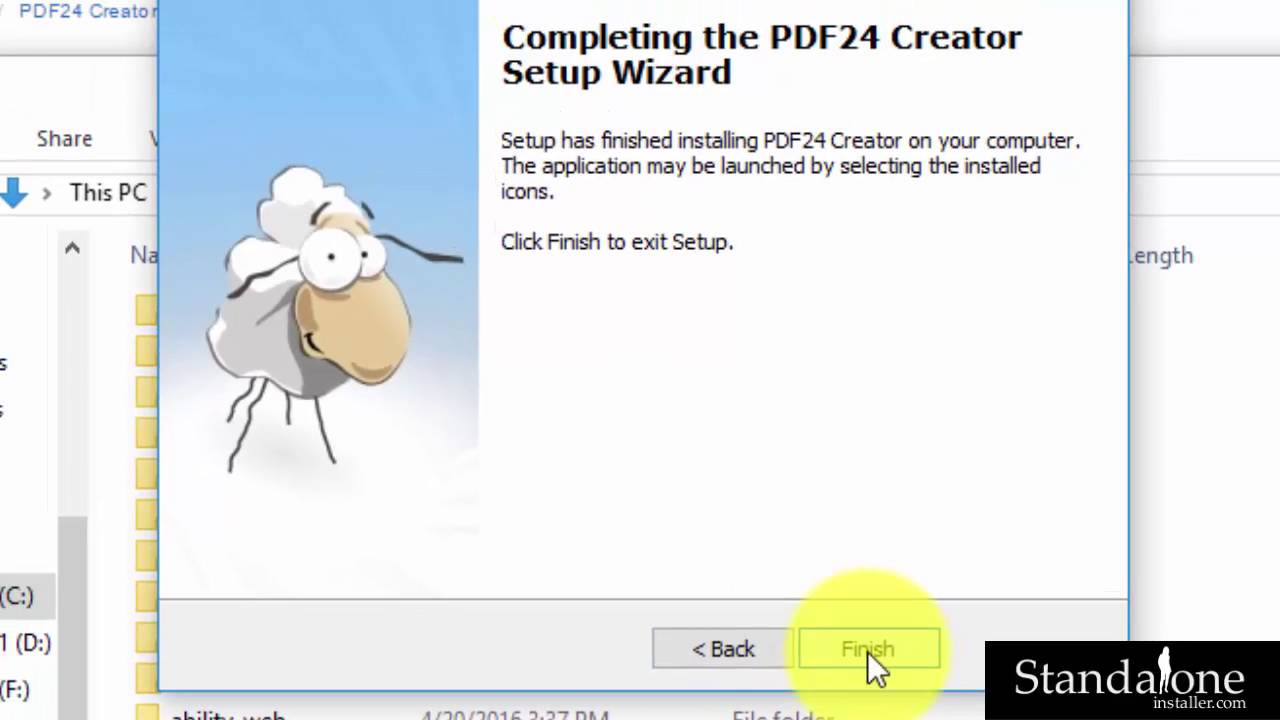 Pdf Creator Sheep