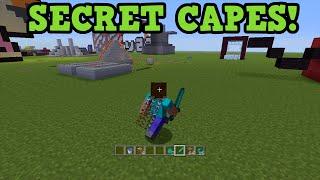 Minecraft Xbox 360 / PS3 - SECRET SKIN CAPES GLITCH Tutorial