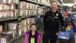 Shop With A Cop Cornelius Walmart