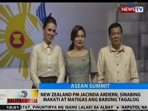 BT: New Zealand PM Jacinda Ardern, sinabing makati at matigas ang Barong Tagalog