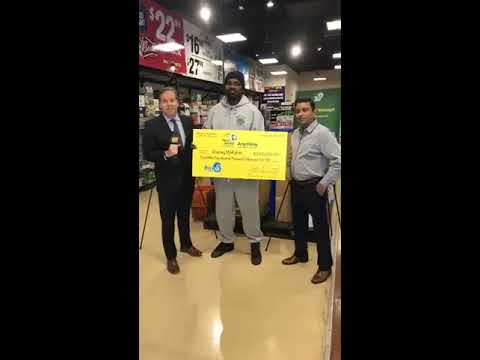 NJ Lottery | $4 5 Million Pick-6 Winner Press Conference