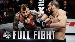 #WSOF30's Jon Fitch vs. Joao Zeferino Welterweight Title Fight