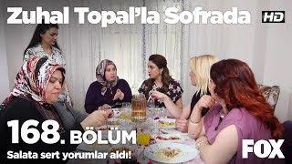Salata sert yorumlar aldı! Zuhal Topal'la Sofrada 168. Bölüm