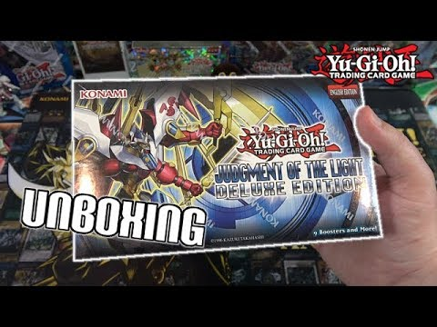 Yu-Gi-Oh! Judgment Of The Light Deluxe Edition Unboxing