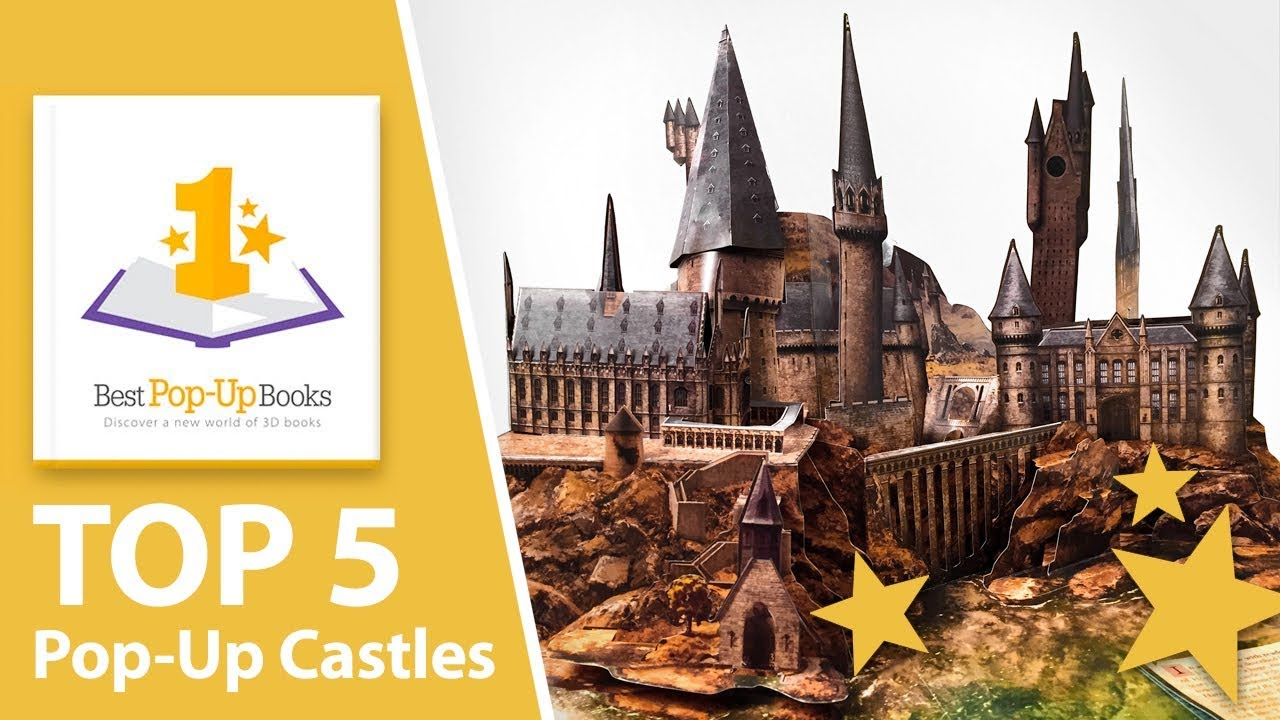 Top 5 Pop-Up Castles - Most beautiful and amazing pop-up books