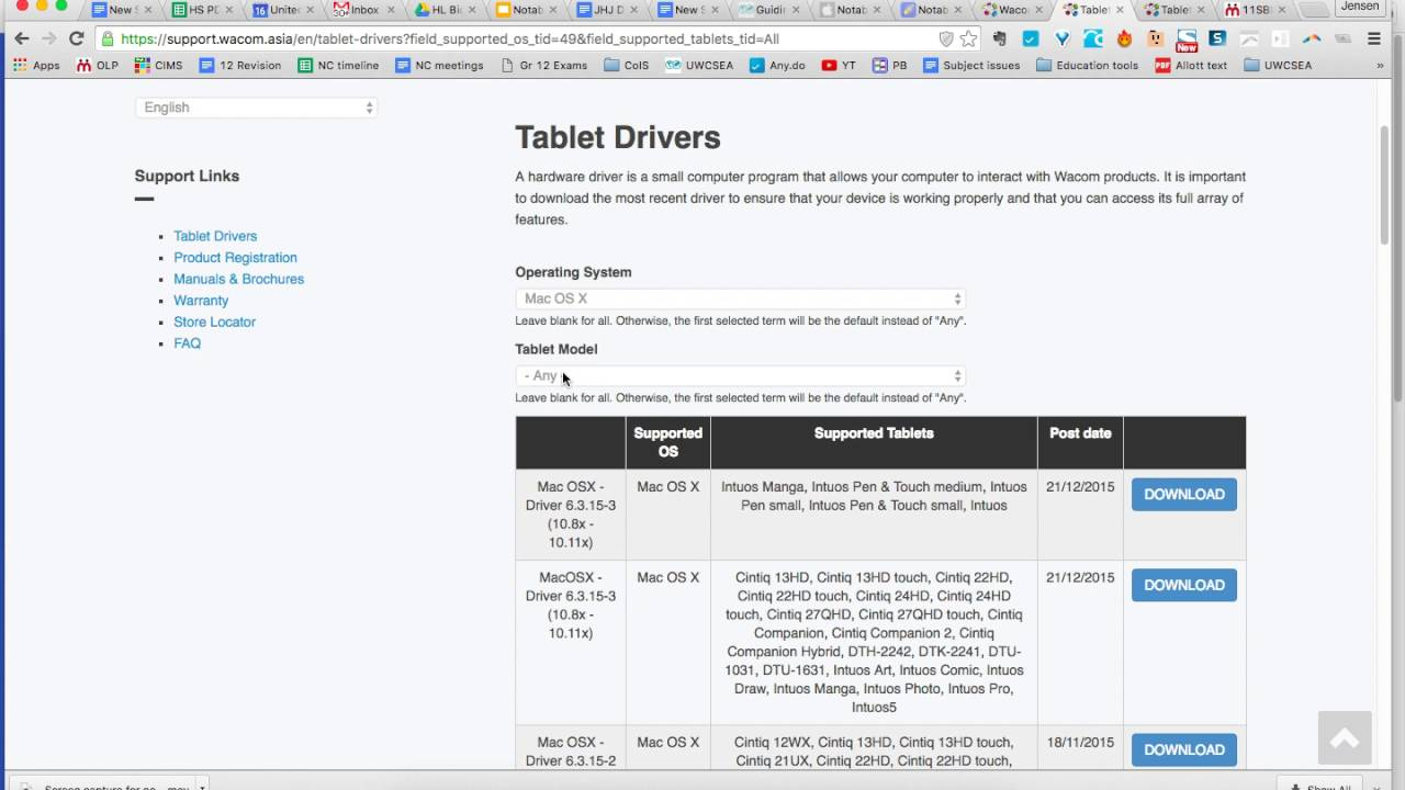 Download tablet software