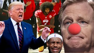 "Trump ""Doesn't Want NFL Back If Players Kneel"" 
