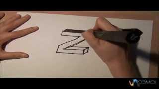 Dibujar la Z en 3D - Draw the Z in 3D