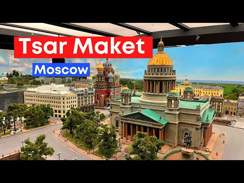 Tsar Maket, The largest interactive layout of Russia in Moscow