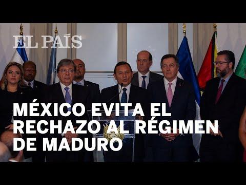 México se niega a sumarse al Grupo de Lima contra el Gobierno de Maduro