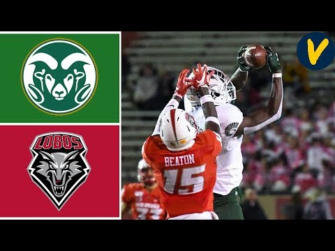 Colorado State Vs New Mexico | Week 7 | College Football Highlights | 2019