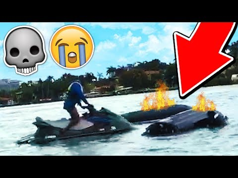 WE ALMOST DIED TODAY! 💀 (JET SKI ACCIDENT)