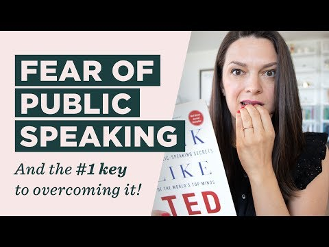 How to Overcome Your Fear of Public Speaking (A step-by-step guide for how I prepare for a talk)