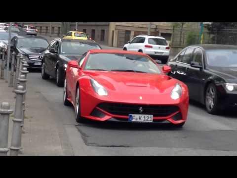 One day carspotting Frankfurt - F12, GT3, Vantage V12 S...
