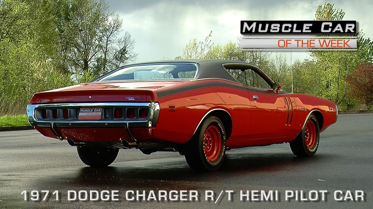Muscle Car Of The Week Video Episode 111 1971 Dodge Charger R T