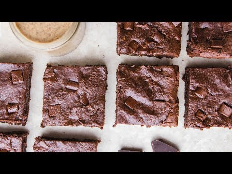 Vegan Almond Butter Brownies Cook with Me!