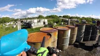 GoPro Paintball: Zombies Vs Surviors ,Ghillie Suit! - Skirmish Bristol