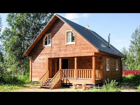 Дом из бруса 7*8 - внутри и снаружи