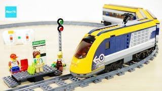 レゴ シティ ハイスピード・トレイン 60197 セット説明 6:35~ / LEGO City Passenger Train
