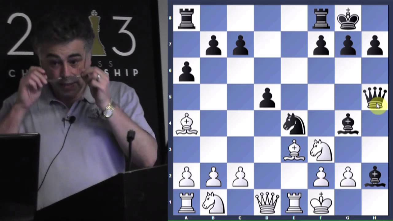 Hold a Draw Against a Higher-Rated Opponent - GM Yasser Seirawan -  2013 06 06