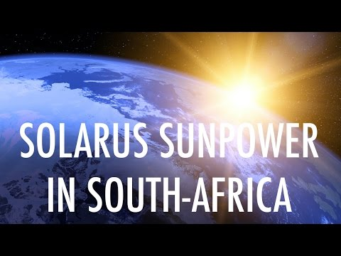 Solarus Sunpower in South-Africa