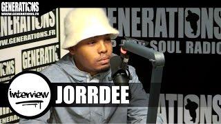 Jorrdee - Interview #BonjourSalope (Live des studios de Generations)