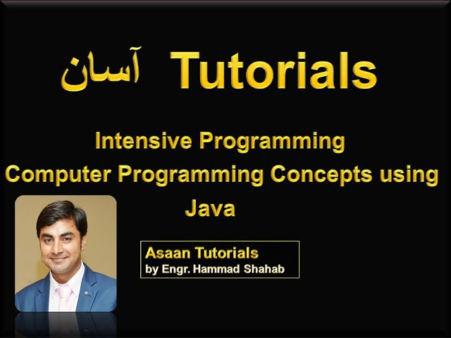 2 Introduction to Java Language and Object Oriented Programming in Hindi/ Urdu