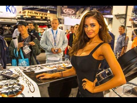 SEMA 2015 BEST Cars & Girl's