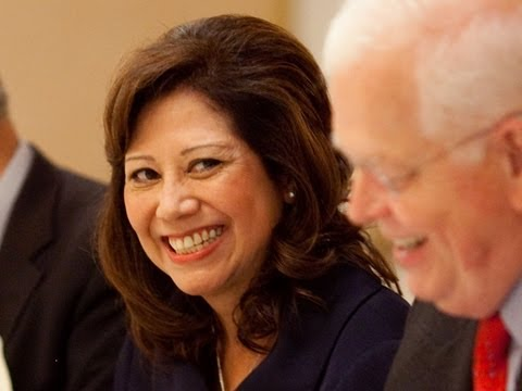 Labor Secretary Solis Talks Auto Industry and Her Chevy Equinox