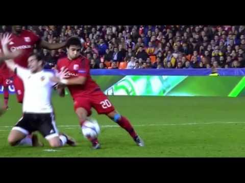 Rafael da Silva vs Valencia Away 2015-2016 UCL