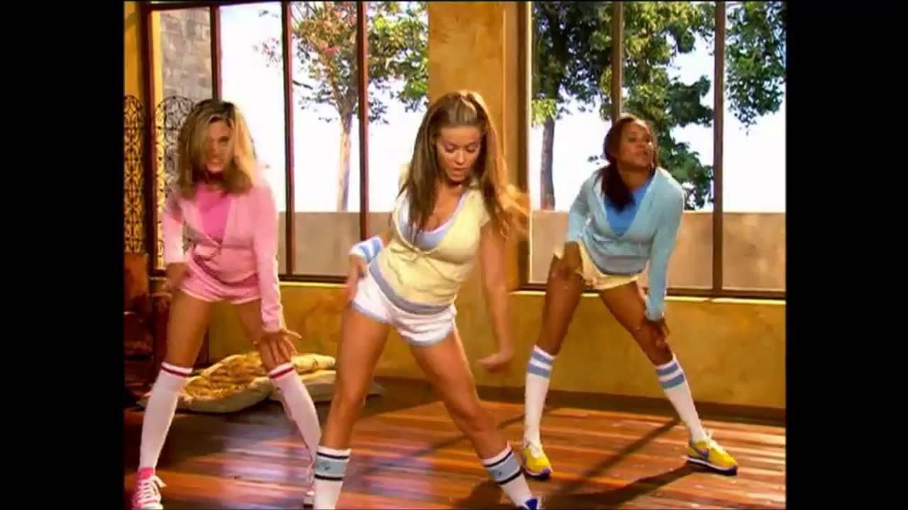 Girls strip workout