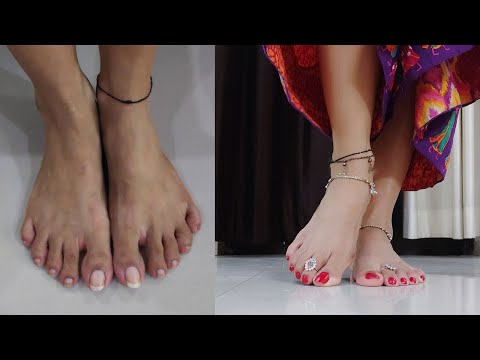 Indian Angel Acquires Feet Worshipped