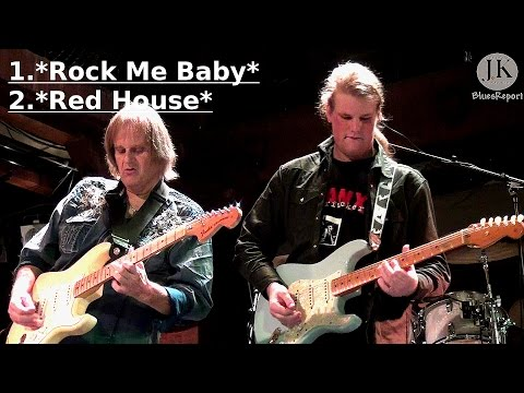Walter Trout & Band with Jon Trout- 1.Rock Me Baby 2 Red House/Hamburg Fabrik Germany 2015
