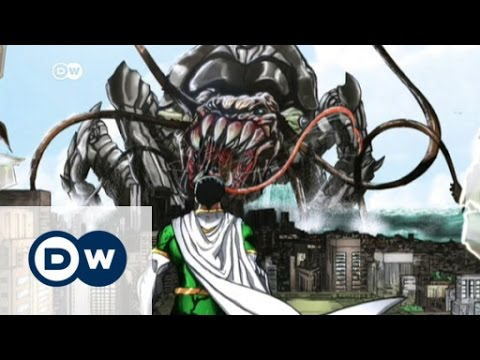 New comic books feature African superheroes | DW News